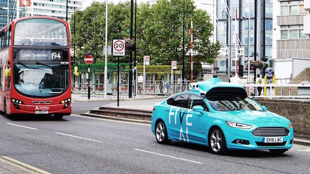Driverless Car Firm To Gather Data On London Streets Ahead Of Trial