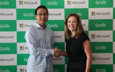 Microsoft Buys Into Ride-Hailing Firm Grab To Collaborate On AI And Big Data