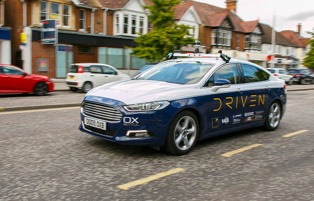 Autonomous cars in London next month